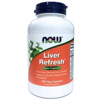 Купить Now Foods Liver Refresh 180 Veg Capsules