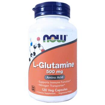 Купить Now Foods L-Glutamine 500 mg 120 Capsules