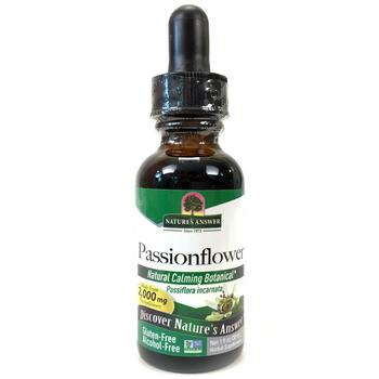Купить Nature's Answer Passionflower Alcohol-Free 30 ml
