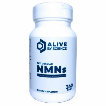 Купить Alive By Science NMN 125 mg Sublingual 240 Tablets