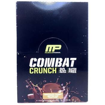 Купить Combat Crunch Chocolate Peanut Butter Cup 12 Bars 63 g Each (Ш...