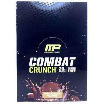 Купить MusclePharm Combat Crunch Chocolate Peanut Butter Cup 12 Bars ...
