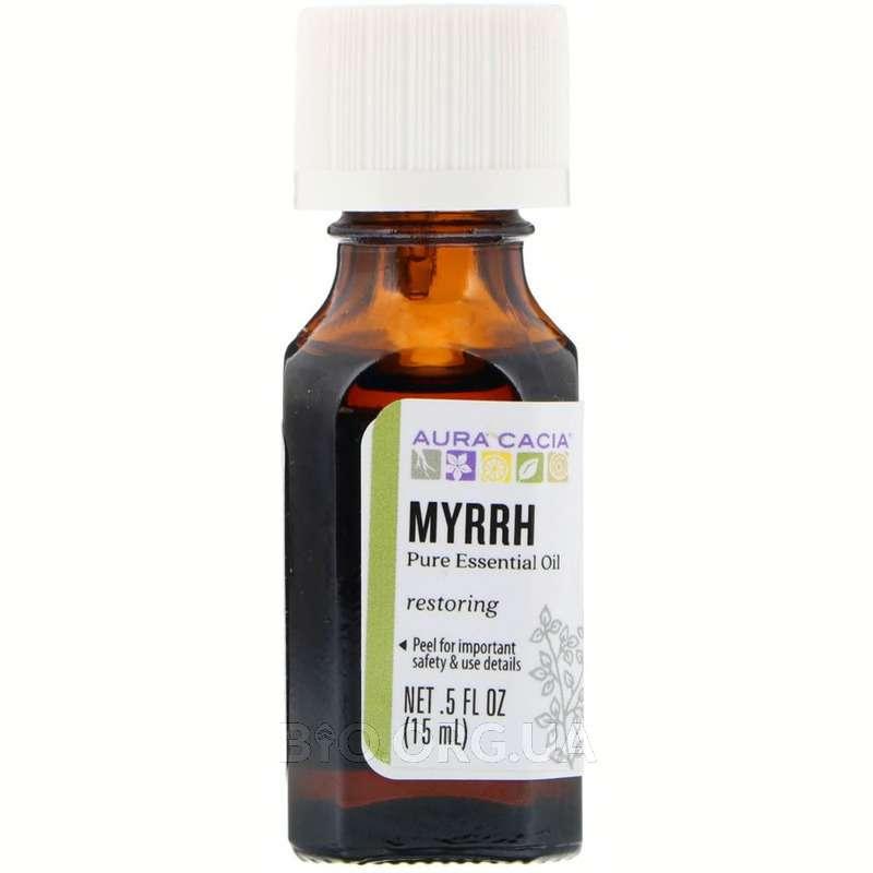Aура Кассия 100 чистое эфирное масло Мирра 15 мл фото товара