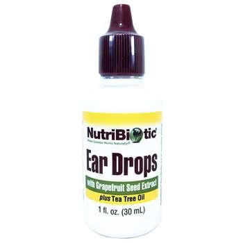 Купить NutriBiotic Ear Drops with Grapefruit Seed Extract 30 ml