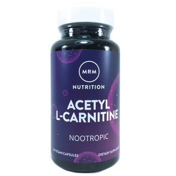 Купить MРM Aцетил Л-Карнитин 500 мг 60 капсул