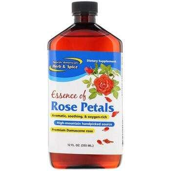 Купить North American Herb & Spice Co. Essence of Rose Petals 355 ml