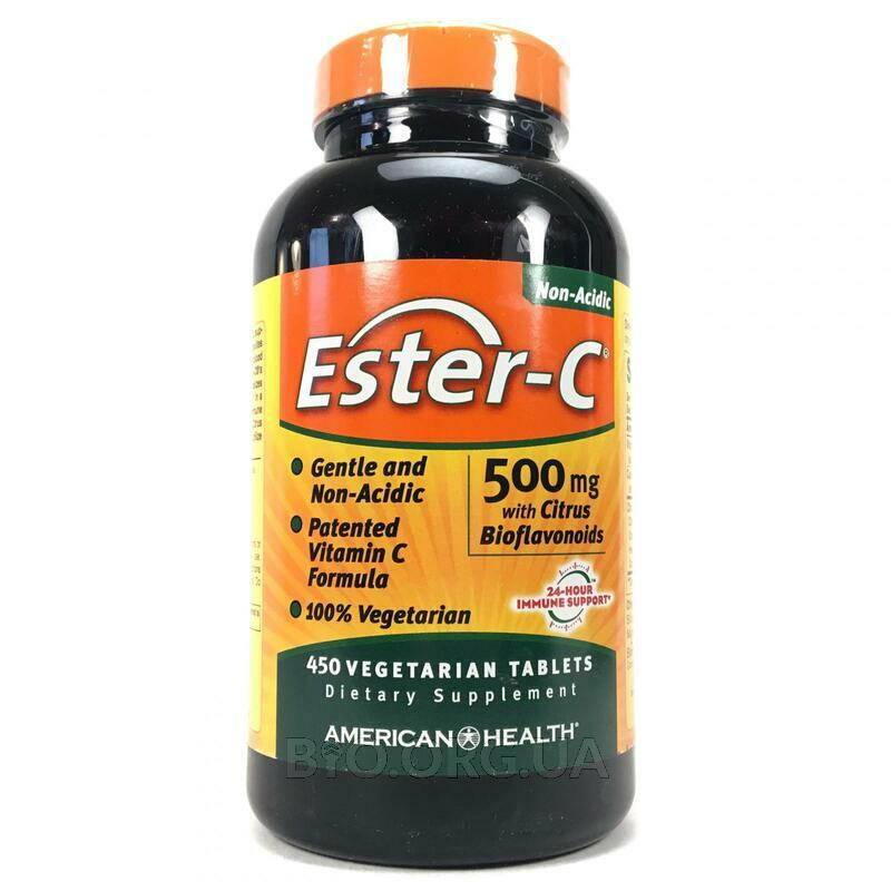 Американ Хелс Витамин Эстер C с Биофлавоноидами цитрусовых 500... фото товара