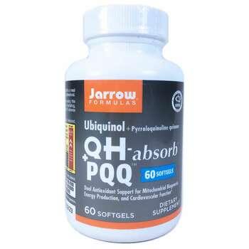 Купить Jarrow Formulas Ubiquinol QH - Absorb + PQQ 60 Softgels