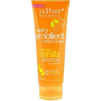 Купить Alba Botanica Natural Very Emollient Cream Shave Mango Vanilla...