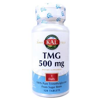 Купить TMG 500 mg 120 Tablets ( TMG триметилгліцин 500 мг 120 таблеток)