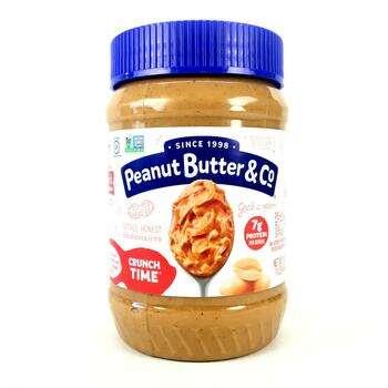 Купить Peanut Butter & Co. Crunch Time Peanut Butter Spread 454 g
