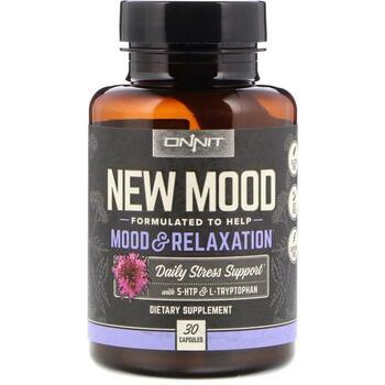 Купить Onnit New Mood Mood & Relaxation 30 Capsules