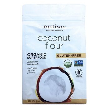 Купить Nutiva Organic Coconut Flour 454 g