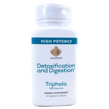 Купить Detoxification and Digestion Triphala 60 Vegetarian Tablets ( ...