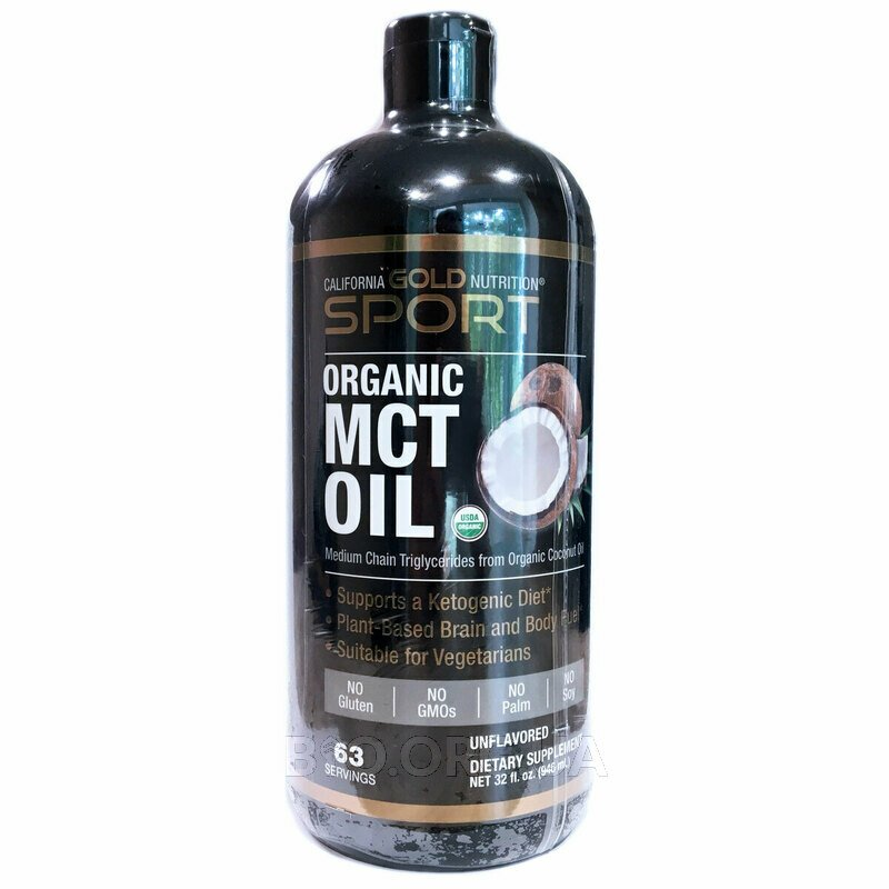 SPORTS Органическое масло MCT без ароматизаторов 946 мл фото товара
