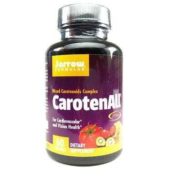 Купить Jarrow Formulas CarotenALL Mixed Carotenoid Complex 60 Softgels