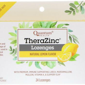Купить TheraZinc Lozenges Natural Lemon Flavor 24 Lozenges  (TheraZin...