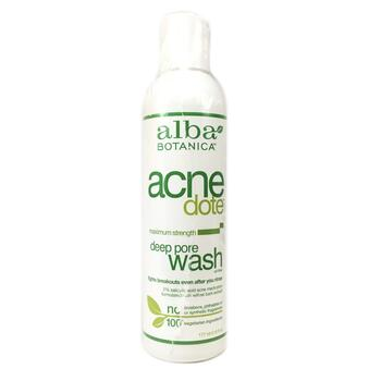 Купить Natural Acne Dote Deep Pore Wash Oil Free 177 ml (Альба Ботані...