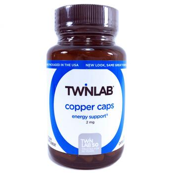 Купить Twinlab Copper Caps 100 Capsules