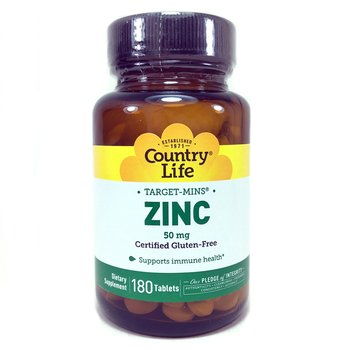 Купить Zinc 50 mg 180 Tablets (Цитрат цинку 50 мг 180 таблеток)