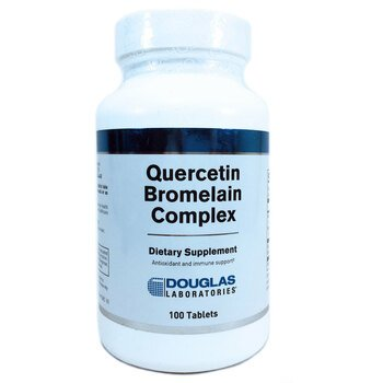 Купить Quercetin Bromelain Complex 100 Tablets ( Комплекс кверцетин б...