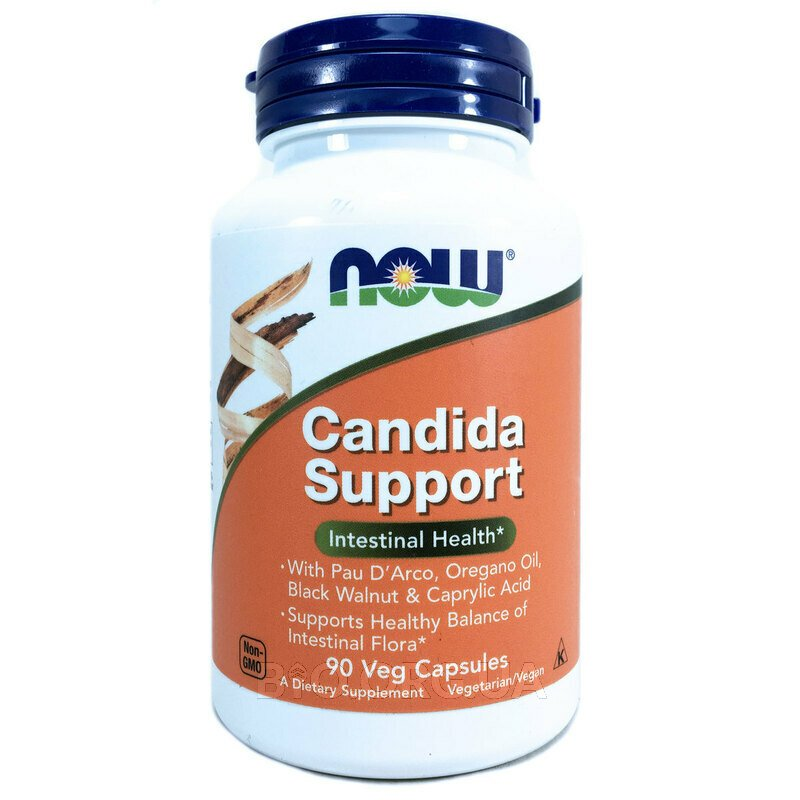 Candida Support 90 вегетарианских капсул фото товара