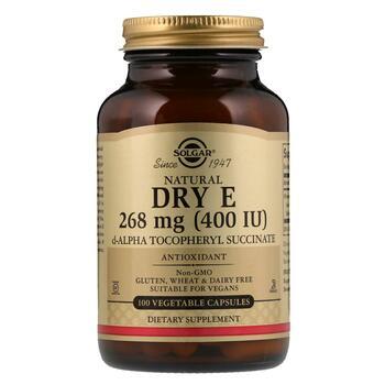 Купить Natural Dry E 268 mg 400 IU 100 Vegetable Capsules