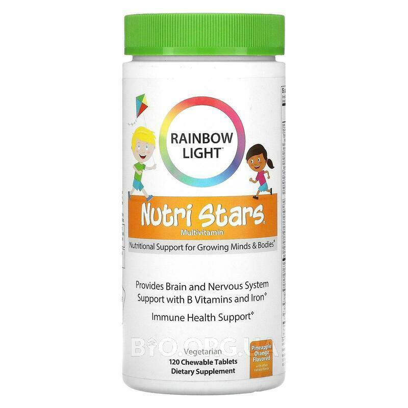 Пищевой мультивитаминный фруктовый пунш 120 таблеток фото товара
