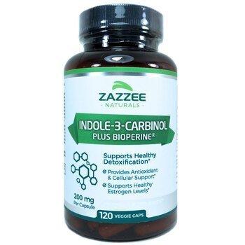 Купить Zazzee Indole-3-Carbinol I3C 120 Veggie Caps