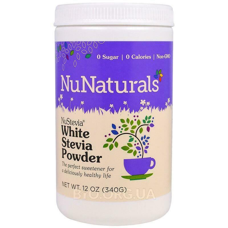 NuStevia White Stevia Powder 12 340 g фото товара