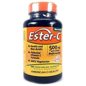 Купить American Health Ester-C 500 mg 120 Veggie Caps