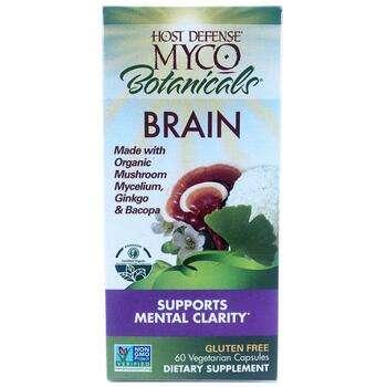 Купить MycoBotanicals Brain 60 Veggie Caps (Суміш грибів і трав MycoB...
