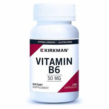 Купить Vitamin B-6 50 mg 100 Capsules