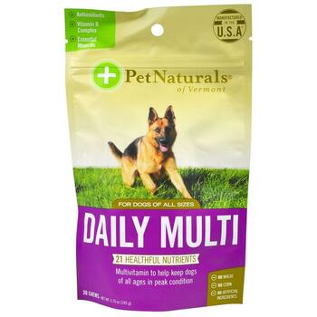 Купить Pet Naturals of Vermont Daily Multi For Dogs 30 Chews 105 g