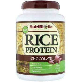 Купить Raw Rice Protein Chocolate 6 650 g ( Сирий рисовий протеїновий...