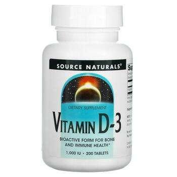 Купить Vitamin D-3 1000 IU 200 Tablets