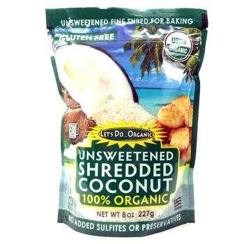Купить Органическая кокосовая стружка Несладкая 227 г