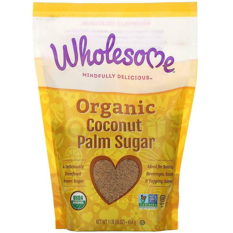 Wholesome Sweeteners Inc. Organic Coconut Palm Sugar 454 g