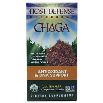 Купить Chaga 120 Vegetarian Capsules (Гриби Чага 120 капсул)