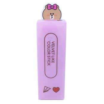 Купить Missha Line Friends Edition Velvet Like Color Stick Sepia Filt...