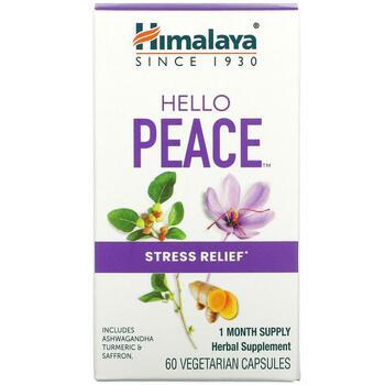 Купить Hello Peace Stress Relief 60 Vegetarian Capsules