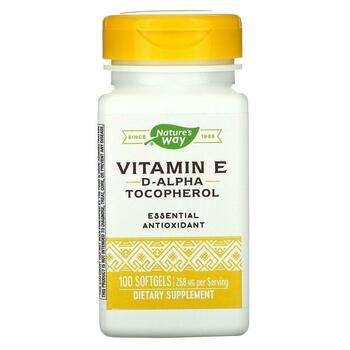 Купить Vitamin E 400 IU 100 Softgels