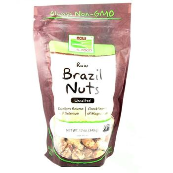 Купить Real Food Whole Raw Brazil Nuts Unsalted 340 g