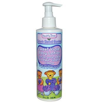 Купить Healthy Times Baby's Herbal Garden Baby Lotion Sweet Violet 23...