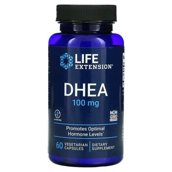 Купить DHEA 100 mg 60 Vegetarian Capsules ( ДГЕА 100 мг 60 вегетаріан...
