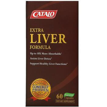 Купить Extra Liver Formula 60 Vegetarian Capsules