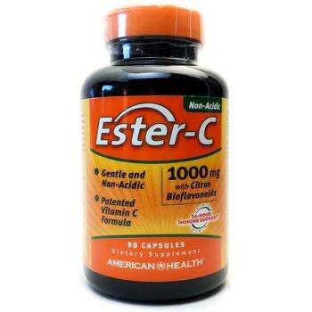 Купить Ester C with Citrus Bioflavonoids 1000 mg 90 Capsules (Естер C...