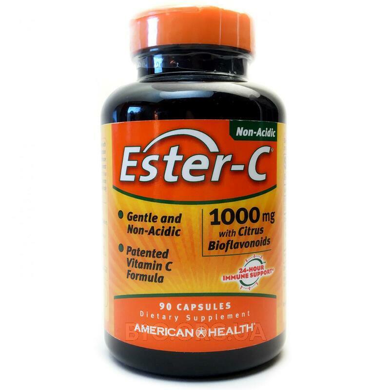 Эстер C с цитрусовыми биофлавоноидами 1000 мг 90 капсул фото товара