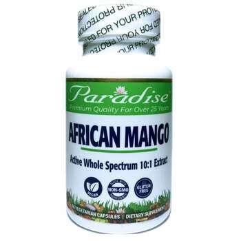 Купить Paradise Herbs African Mango 60 Vegetarian Capsules