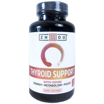 Купить Thyroid Support with Iodine 60 Veggie Capsules (Підтримка щито...